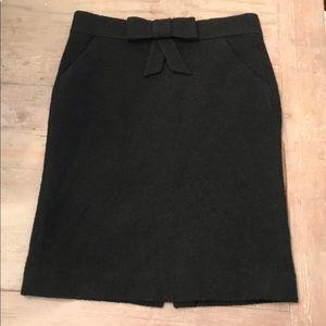 J Crew Bouclé Pencil Skirt